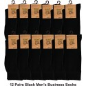 12 Pairs Men's Business Socks