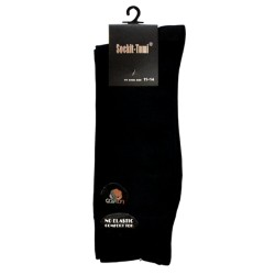 6 PAIRS MEN'S LOOSE TOP BUSINESS SOCKS KING SIZE