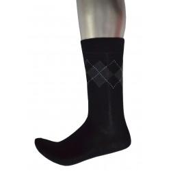 Men's Pattern Business Socks