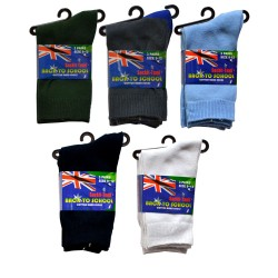 9-12 Kids School Socks