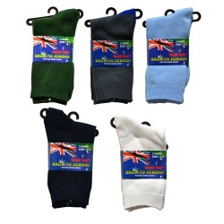 13-3 Kids School Socks