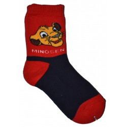 5-8 Kids Sock mingsen red/ navy blue