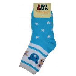 5-8 Kids Sock kb aqua blue