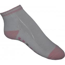 13-3 Kids Socks white / pink / heart 2