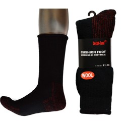 3 Pairs Heavy Duty Wool Work Socks