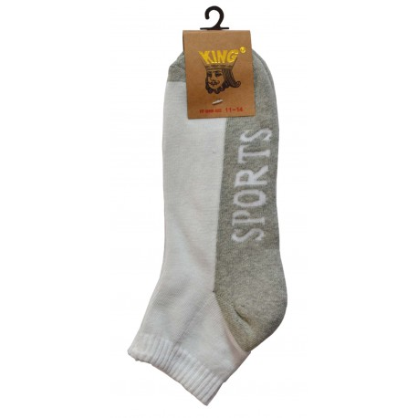 Men's King Size Ankle Sport Socks