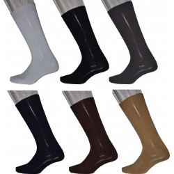 6 Pairs Men's Loose Top Business Socks