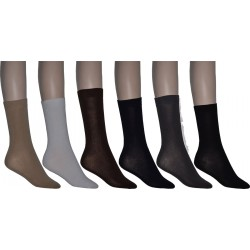 6 Pairs Women's Loose Top Business Socks