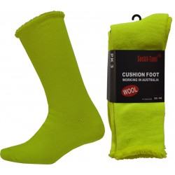 Hi-Vis Safety Boot Woollen Work Socks