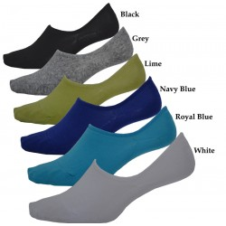Men's No Show Footlet Socks Boat socket Assorted Colors BULK