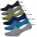 BULK Men's No Show Footlet Socks Boat socket Assorted Colors